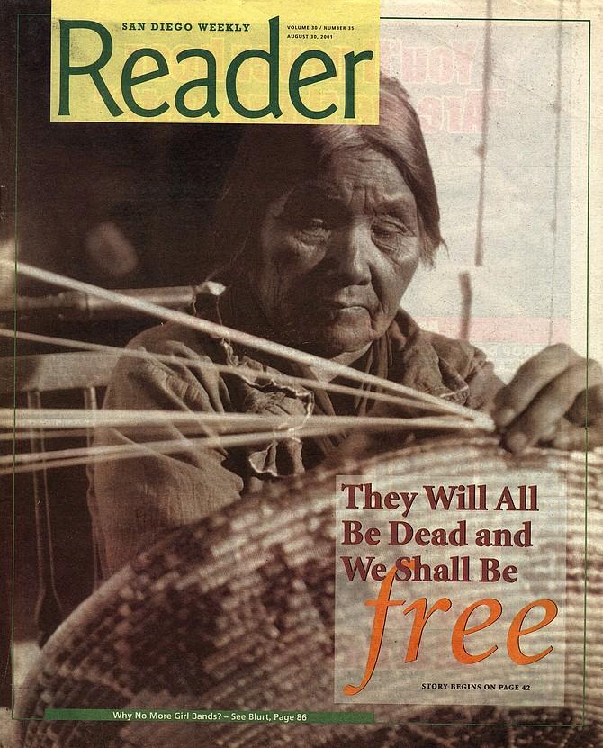 San Diego Reader, August 30, 2001