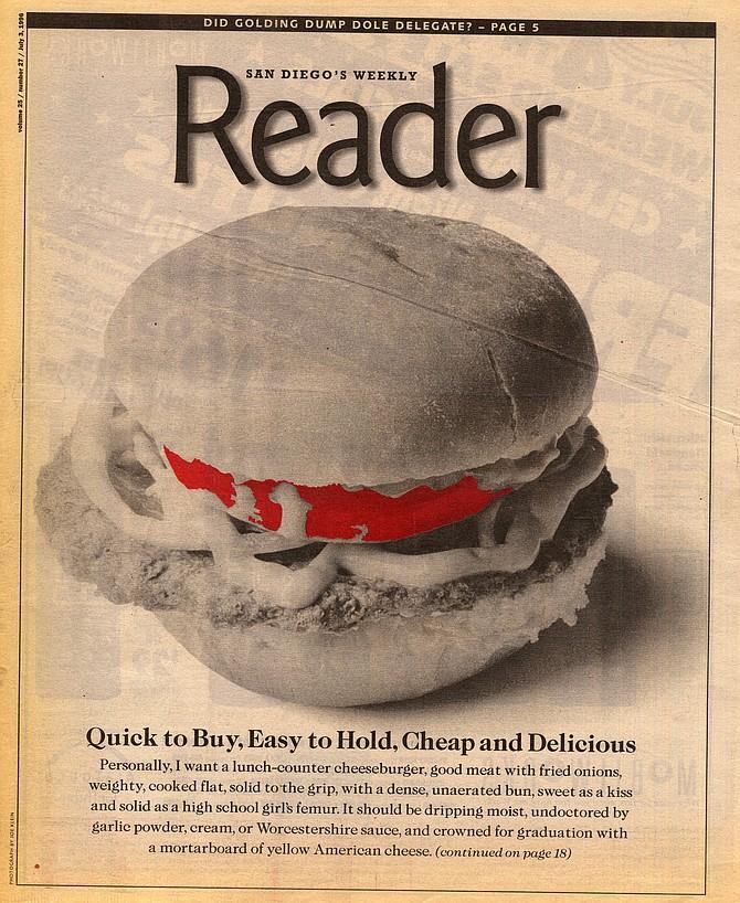 San Diego Reader, July 3, 1996