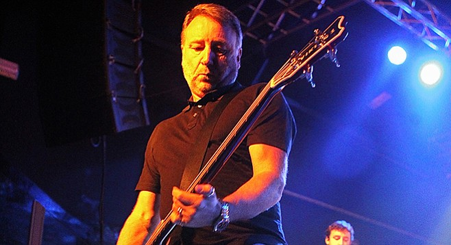 Peter Hook is happy to go back to the tracks marking New Order's high point, but he is not going back to New Order.
