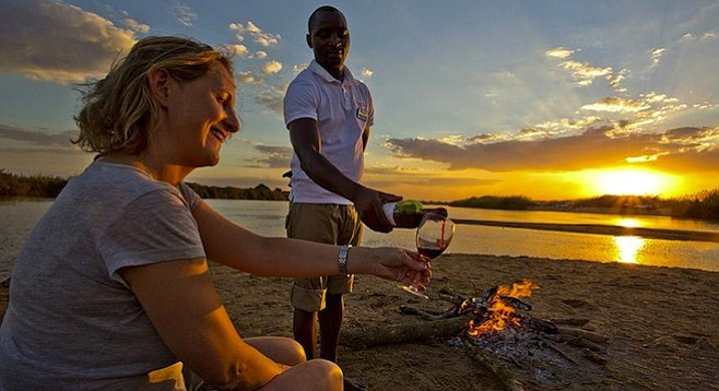 Among the perks of a visit to Gorongosa National Park