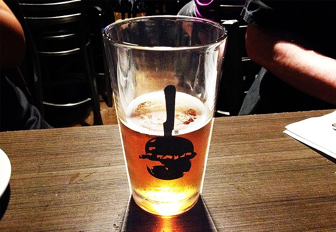 North Park IPA from Mike Hess Brewing Company at Slater's 50/50 in San Marcos