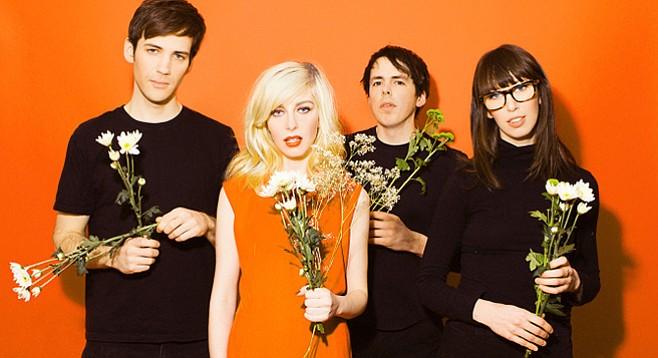 Soda Bar serves up indie-pop Canada band Alvvays on Tuesday.