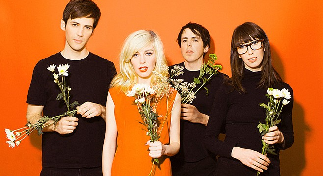 Soda Bar serves up indie-pop Canada band Alvvays on Tuesday.