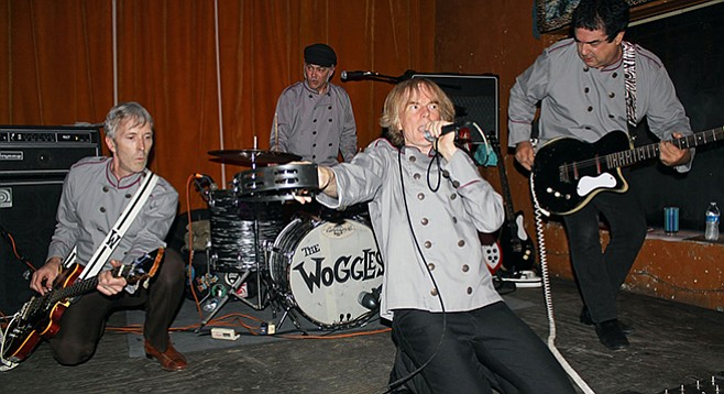 Garage-rock Atlanta band the Woggles turn up at Til-Two Friday night!