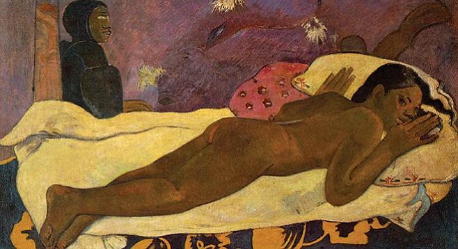 Paul Gauguin's sullen, haunted Spirit of the Dead Watching