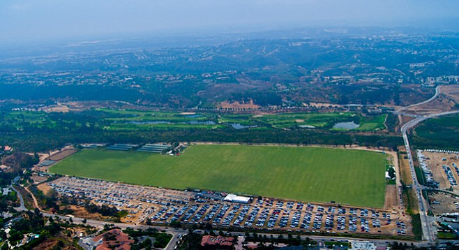 """It might be referred to as """"the polo fields,"""" but it's leased city property"""