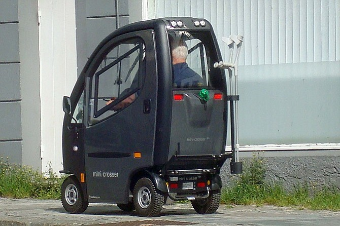In Norway, the mobility-challenged are protected from the elements.