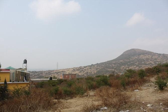 Tepotzotlán's namesake hill.