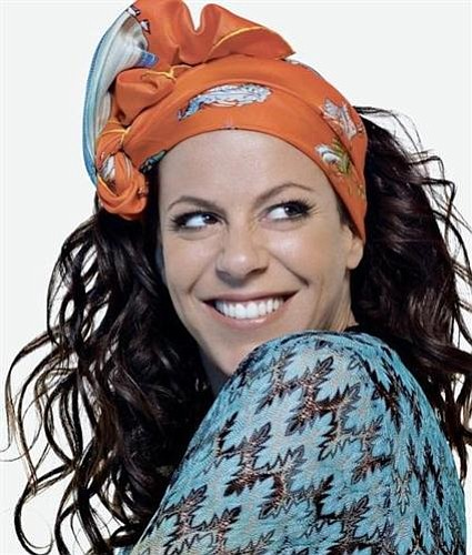 Latin-pop singer Bebel Gilberto's at Belly Up on Tuesday.