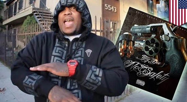 """From San Diego's Lincoln Park neighborhood, rapper Brandon """"Tiny Doo"""" Duncan made national news with his """"confessional"""" record."""