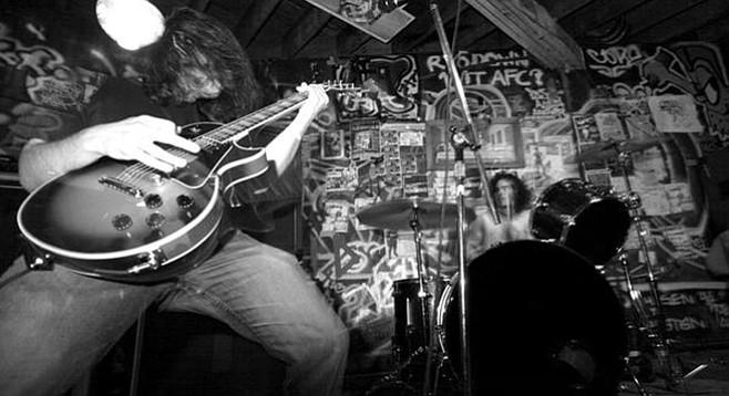 Doom-metal duo Black Cobra slithers into Brick by Brick on Wednesday.