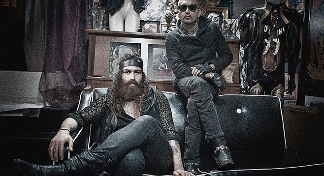 """""""Cholo-goth"""" duo Prayers has the pulpit at the Hideout Monday night."""