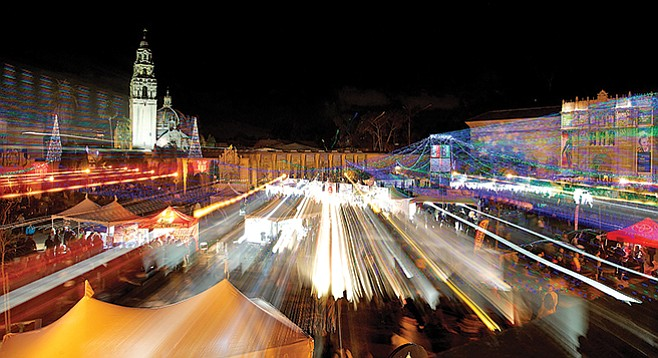 Balboa Park will stay up late on Friday and Saturday
