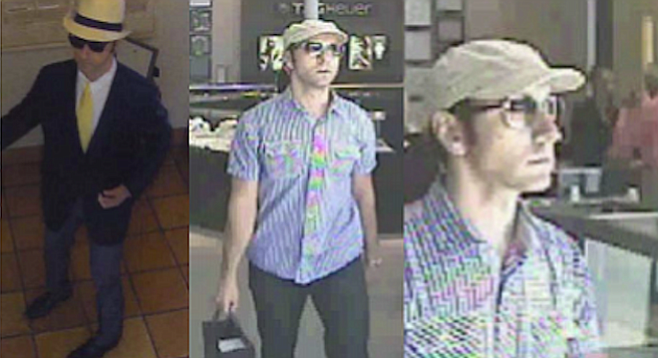 Surveillance images posted on Crime Stoppers
