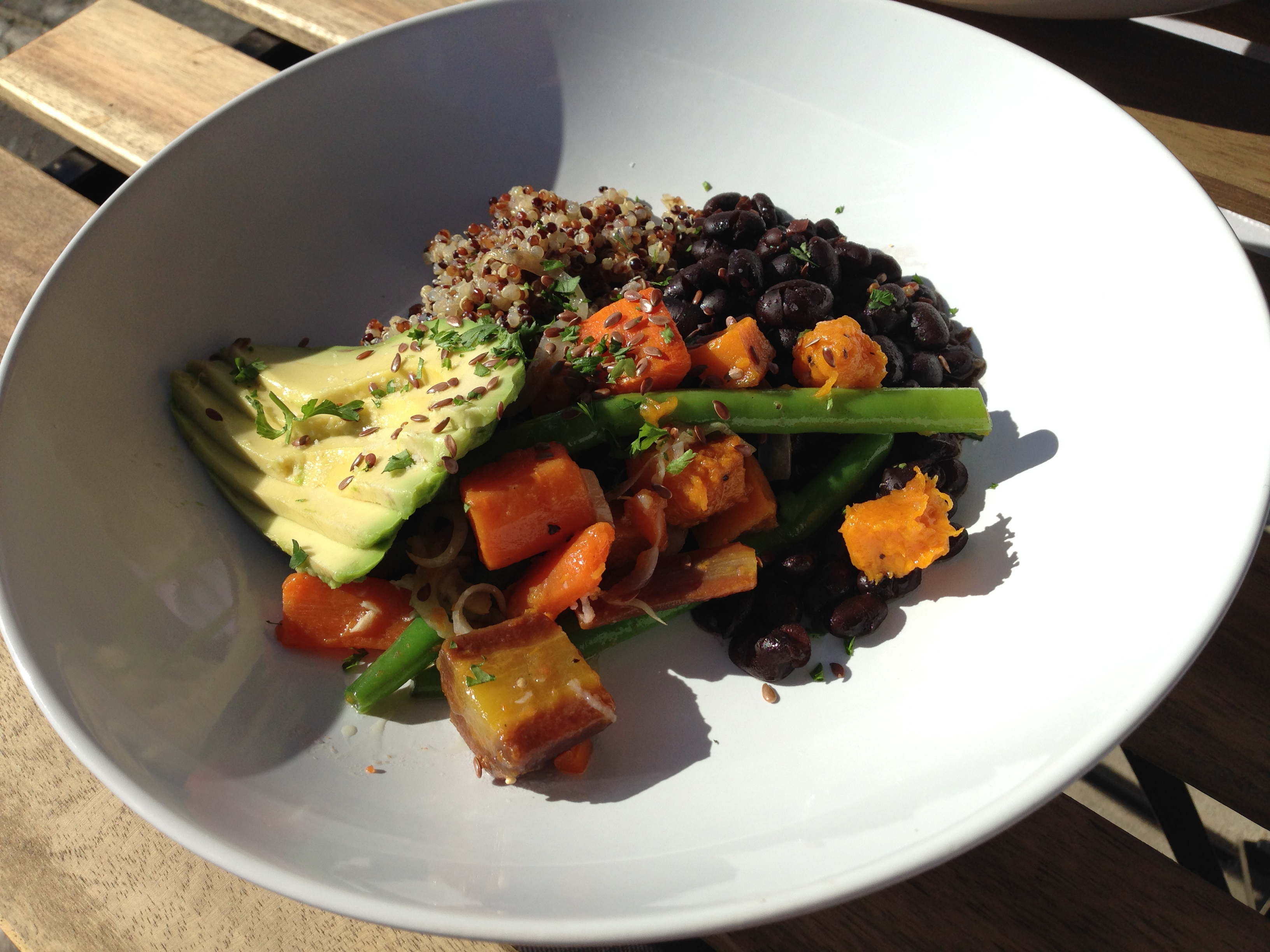 Plenty of healthy stuff in here to feel good about. Superfood Bowl. Little Lion Café.