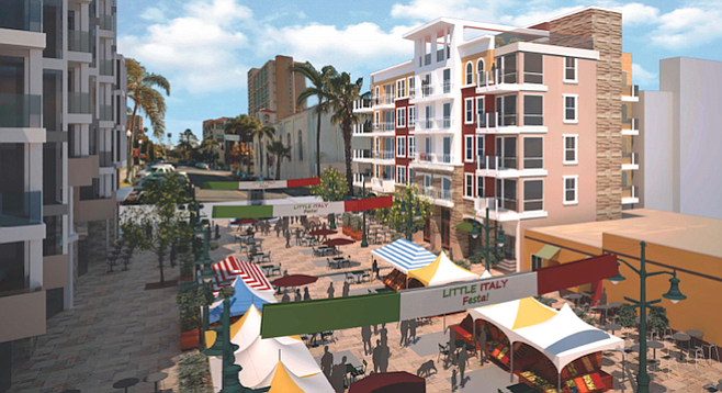 Architectural rendering (southeastern view). Little Italy  Neighborhood  News