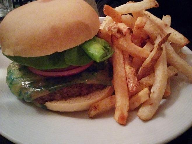 B-side burger