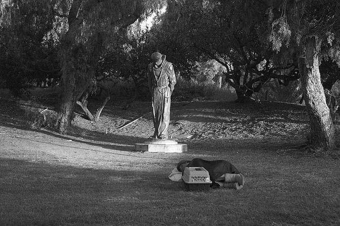 We will rest easy tonight. Presidio Park.