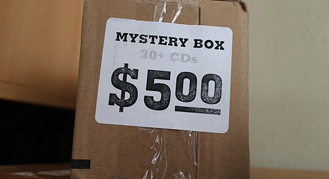 A Lou's Records mystery box would make a fine white-elephant gift.
