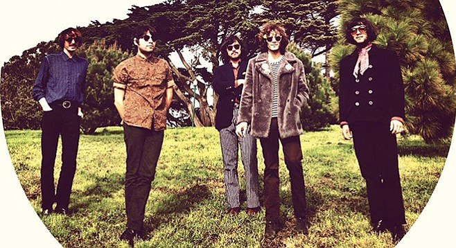 Sixties-style psych-rock act Mystic Braves play Casbah Tuesday night.