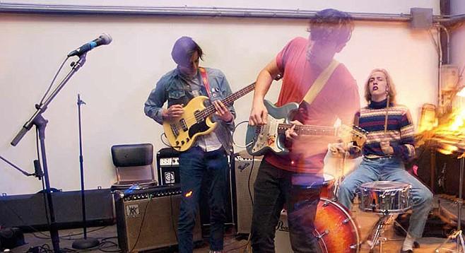 Garage-rocking Cosmonauts land at the Hideout Saturday night.