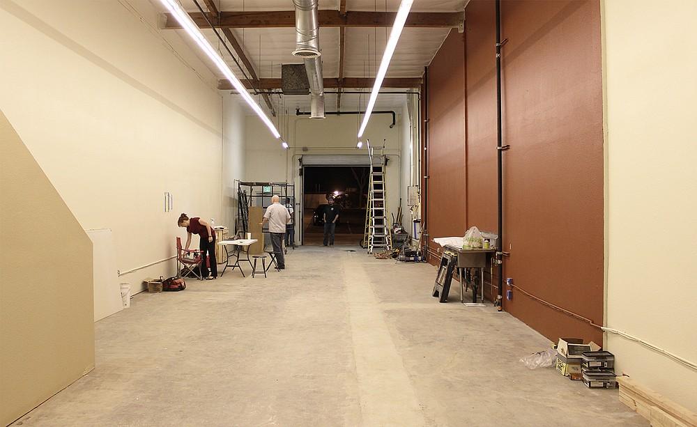 Work-in-progress Kilowatt Brewing Company in Kearny Mesa