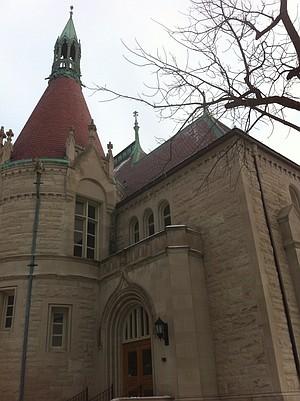 The town's historic Castle Museum.