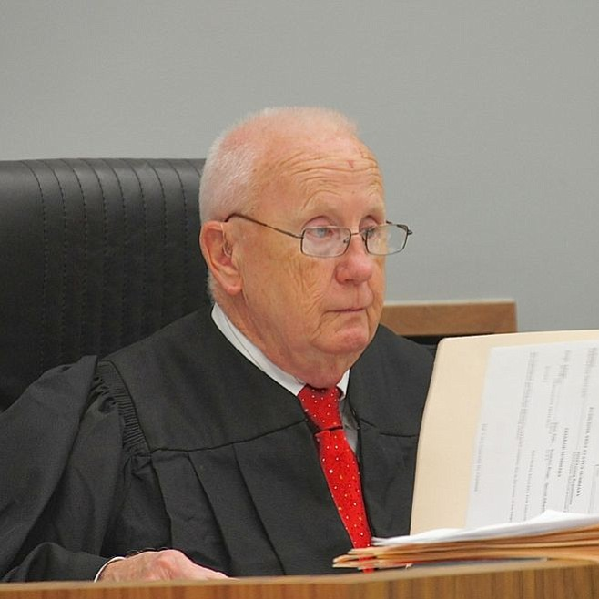 Judge Martin Staven told Versteegh he had to give up any firearms.