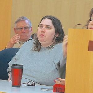 Jessica Lopez in court Dec 12, 2014.
