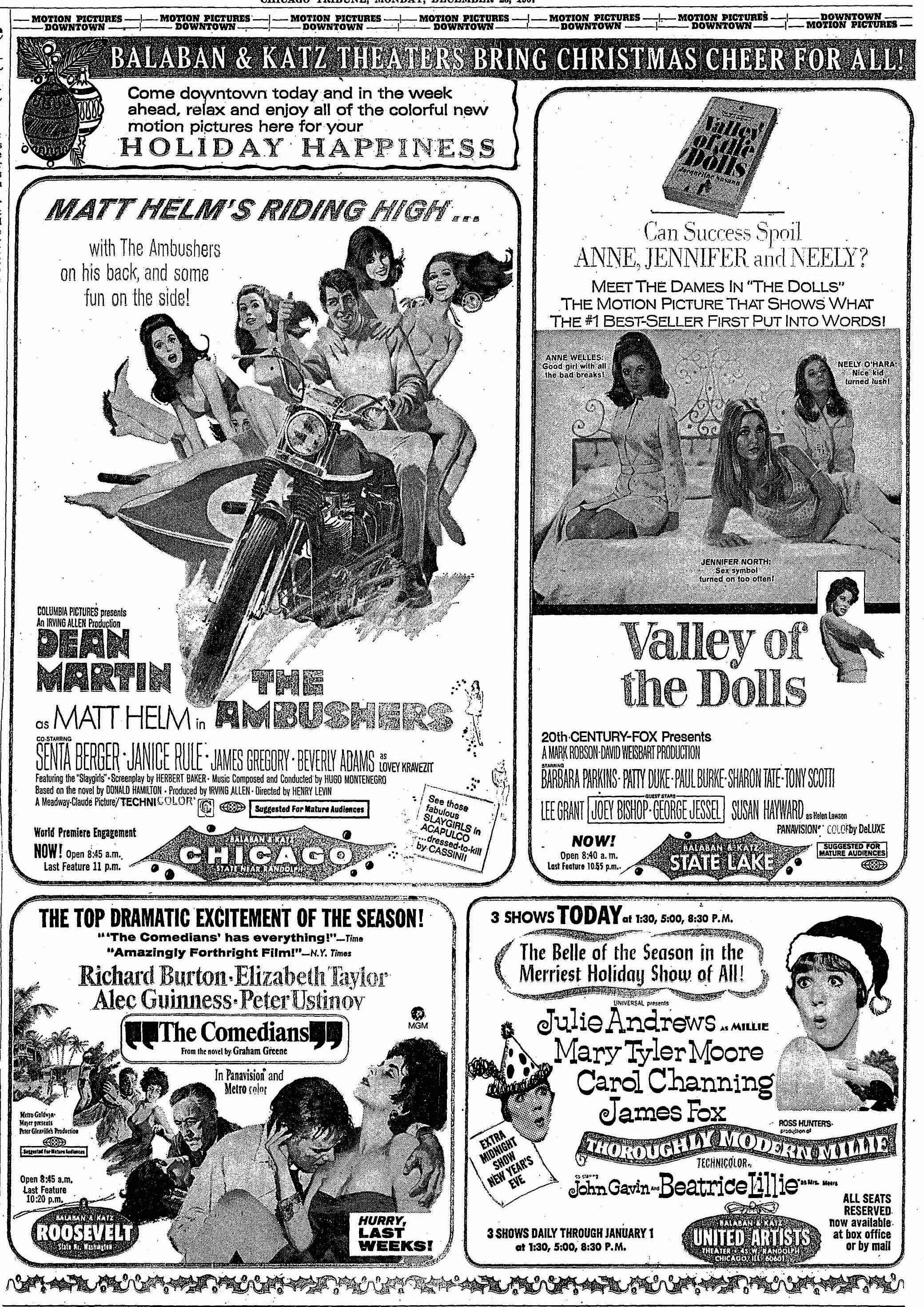 Ghosts of Christmas movie ads past | San Diego Reader