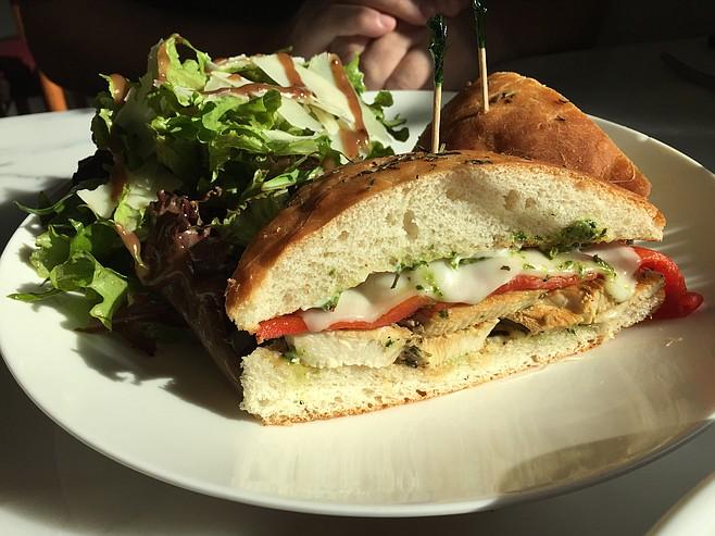 Chicken rosemary sandwich