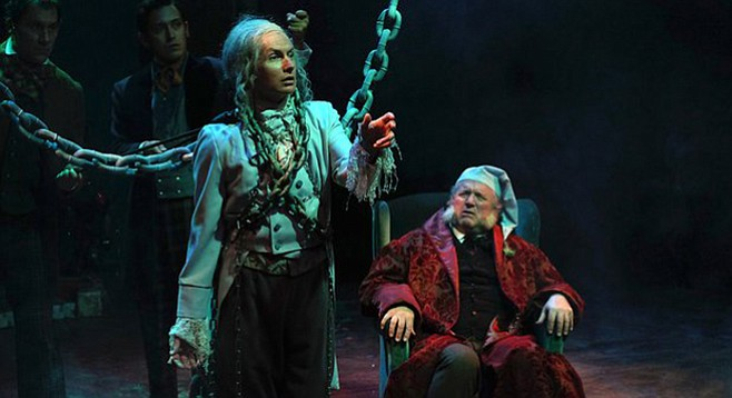 A Christmas Carol at Cygnet Theatre