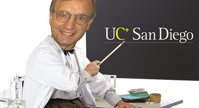 """Professor of medicine Gerry Boss reports that compared to other UC schools, """"UC San Diego is on the low end of the four-year graduation rate."""""""