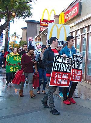 December 4th McDonald's strike
