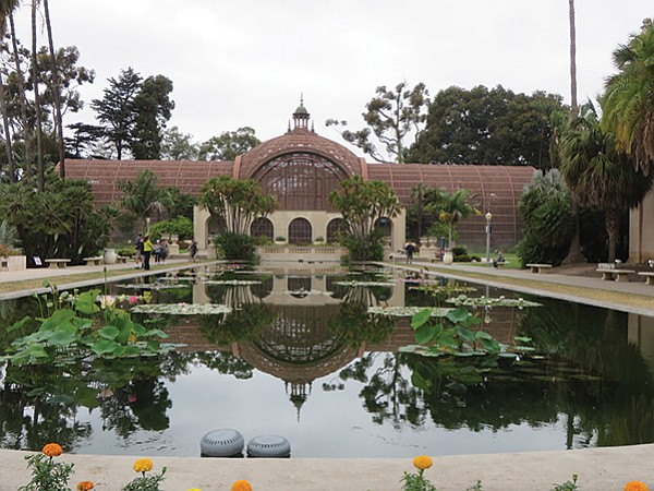 The lily pond is one of the most photographed spots in San Diego.
