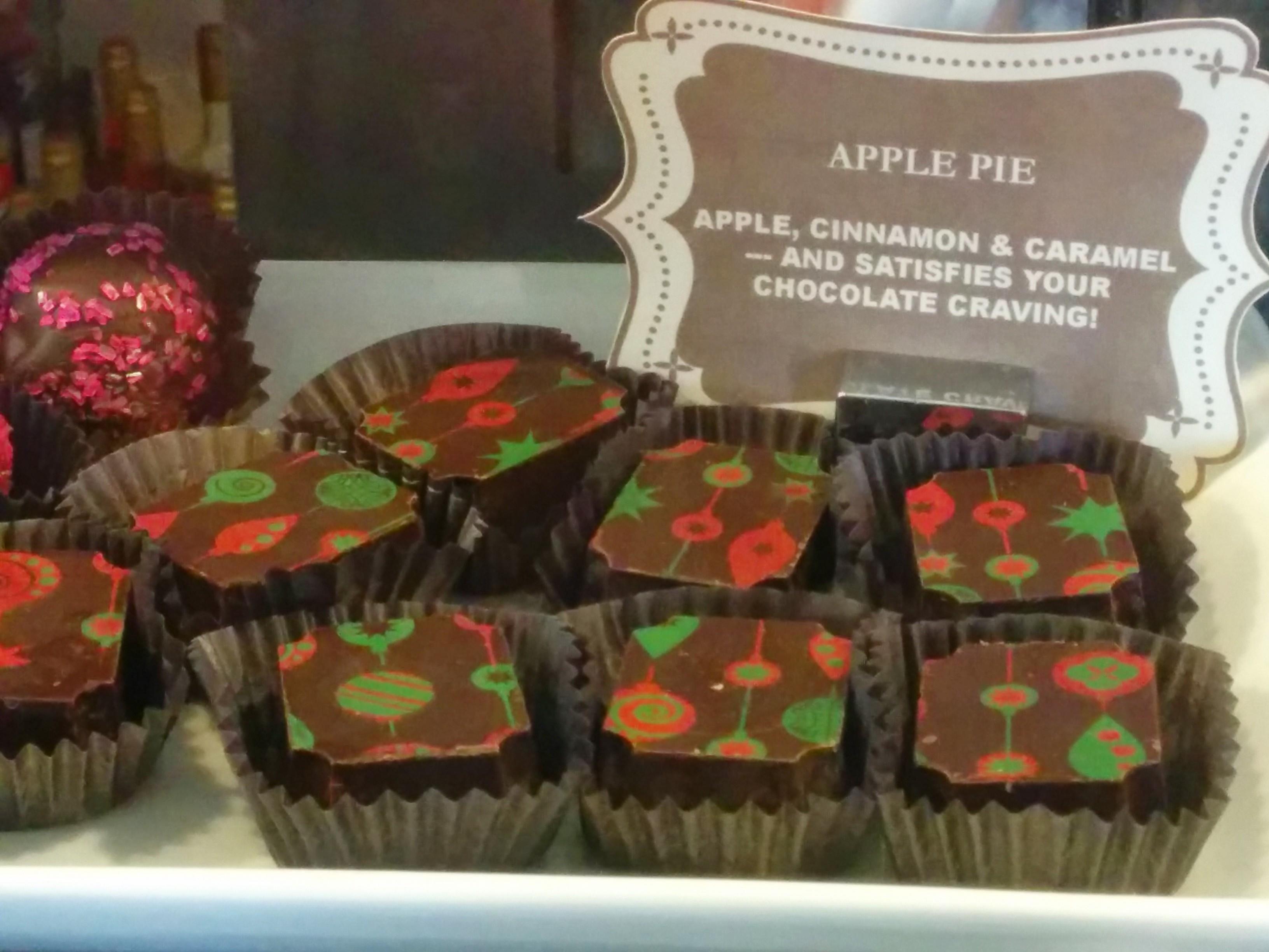 Apple Pie chocolates