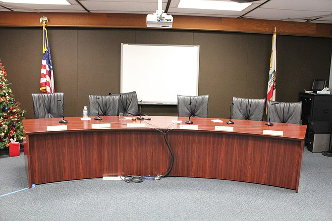 San Ysidro School District Education Center, Board Members were in closed session for over two hours on Thursday, December 18th.