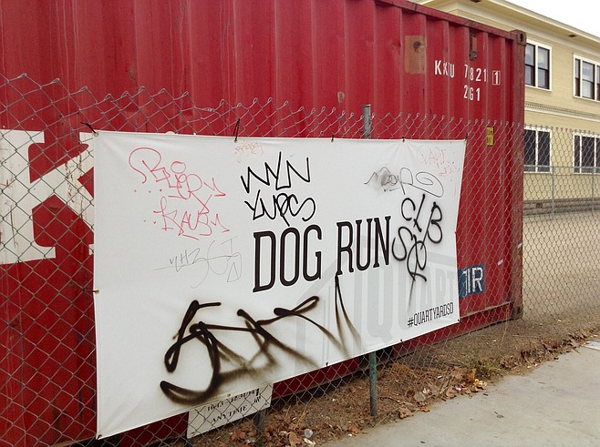 Doggy park's part of the plan