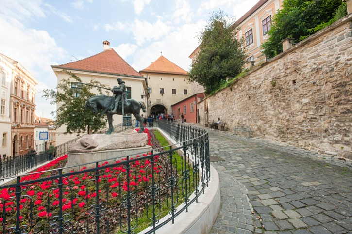 St George and the Dragon Statue, Zagreb.
