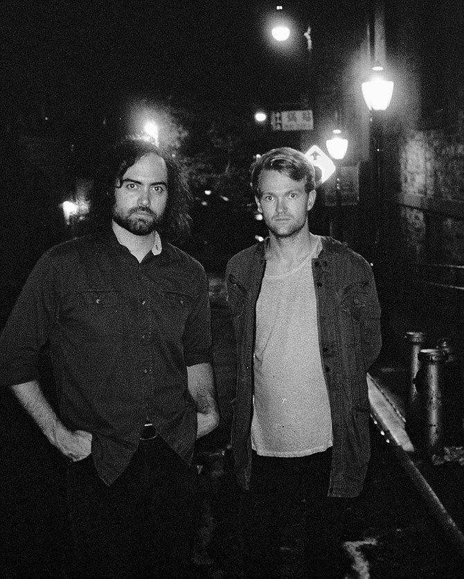 Space-pop duo Hideout hits Soda Bar on Saturday.