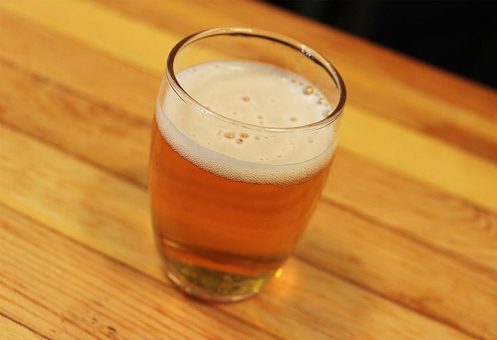 Bagby Beer Worker Bee blonde ale brewed with Vista honey