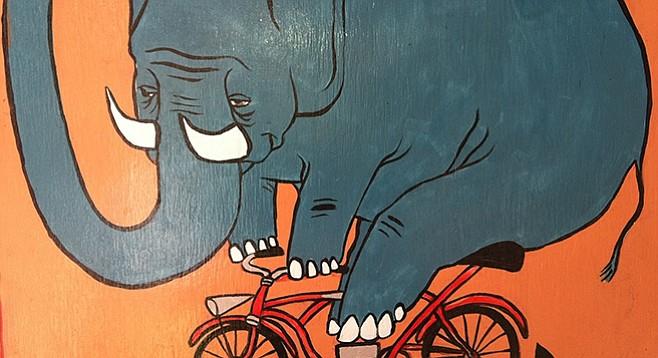 Elephant metaphors abound in literature.