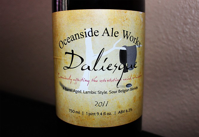 Oceanside Ale Works Daliesque - Image by @sdbeernews