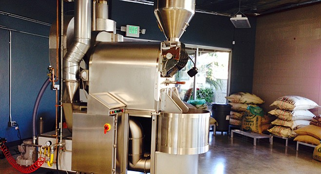 Big new roaster for a big new year at Bird Rock