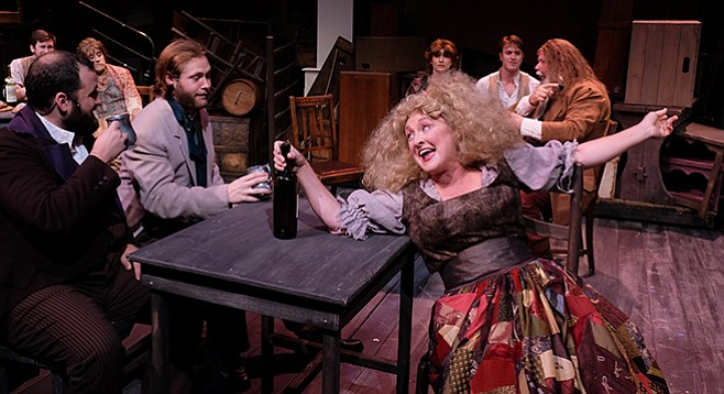 Lamb's Players' Les Miz would still be packing them in if the cast didn't have other commitments.