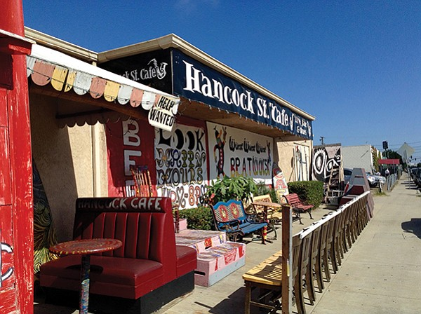 Hancock Street Cafe San Diego