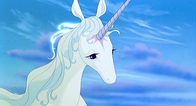 Sunday, catch The Last Unicorn and net a signature from creator Peter S. Beagle