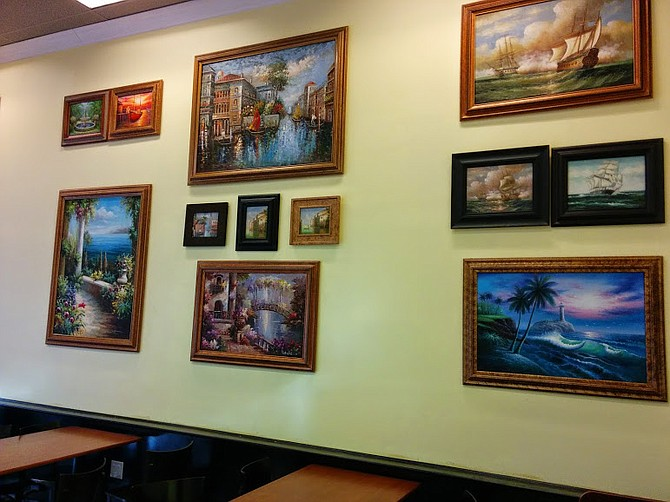 Trinitea's gallery of Kinkade-esque paintings secured south of the border