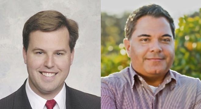 John McCann and Steve Padilla