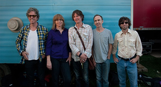 Americana band the Jayhawks land at Belly Up Sunday night.